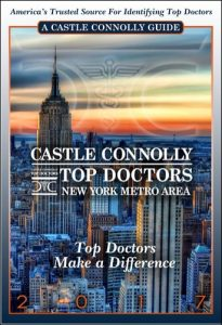 Castle Connolly Top Doctors New York Metro Area 2017
